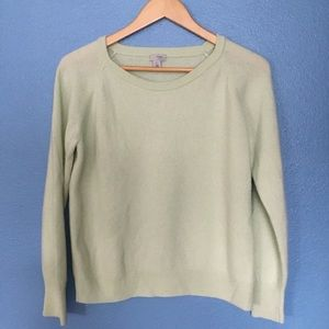 Mint Green Halogen Cashmere Sweater